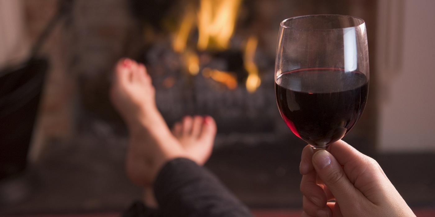 Glamourland rode wijn