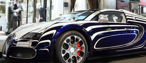 L´or Blanc: Bugatti