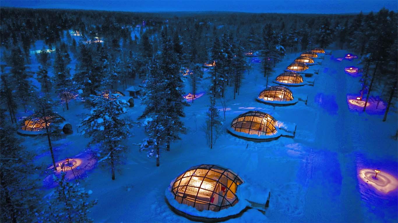 Al vakantieplannen? Dit zijn 's werelds meest unieke hotels