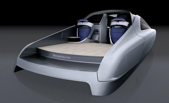 Mercedes benz introduceert motor yacht glamourland magazine - Tv standaard huis ter wereld ...