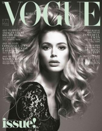 Doutzen & Saskia op twee Vogue Covers