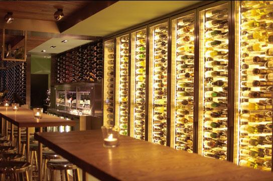 Classy wine in Amsterdam