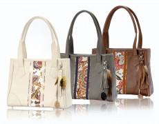 Omar Munie toont nieuwe tassencollectie