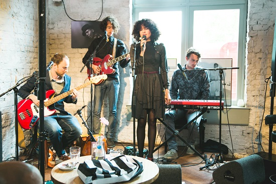 Sennheiser 'MOMENTUM' - 3 september 2013 - North Sea Jazz Cafe A