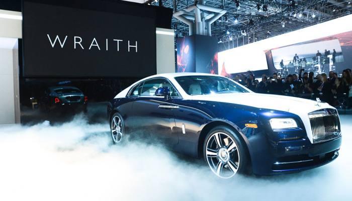 De Rolls-Royce Wraith