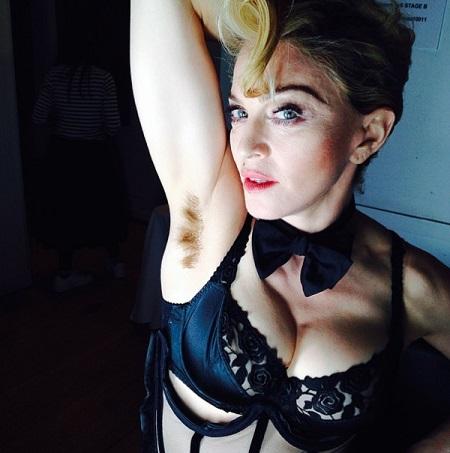 Glamourland Madonna okselhaar