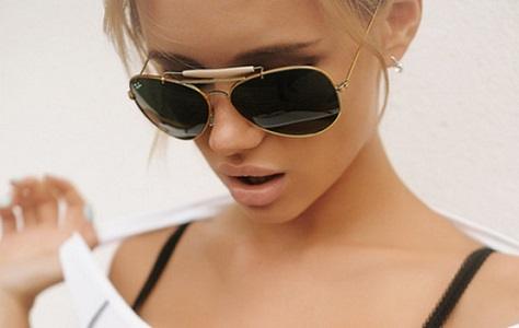 Glamourland zonnebril piloot