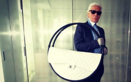 Glamourland Karl Lagerfeld Hoelahoep