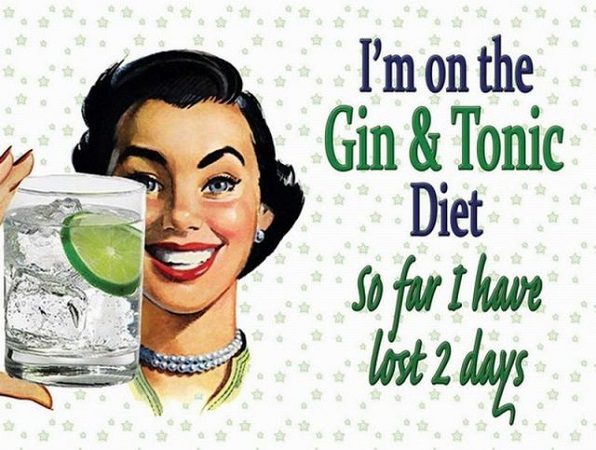 Glamourland gin tonic