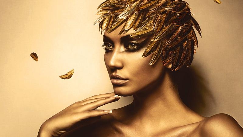 Glamourland model goud