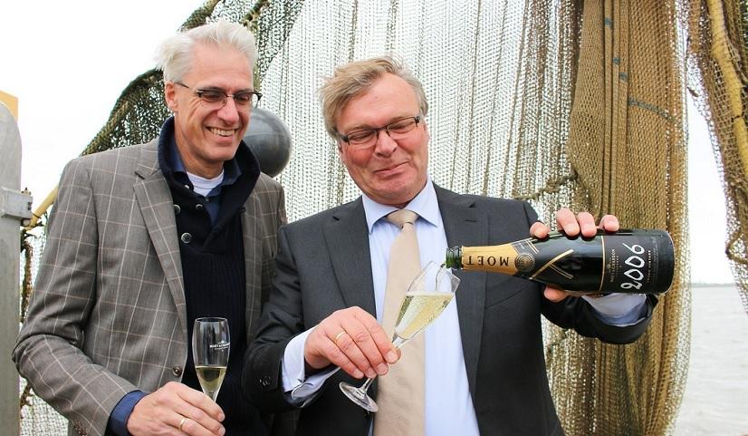 De Groene Lantaarn in de prijzen: daar Moët op gedronken worden!