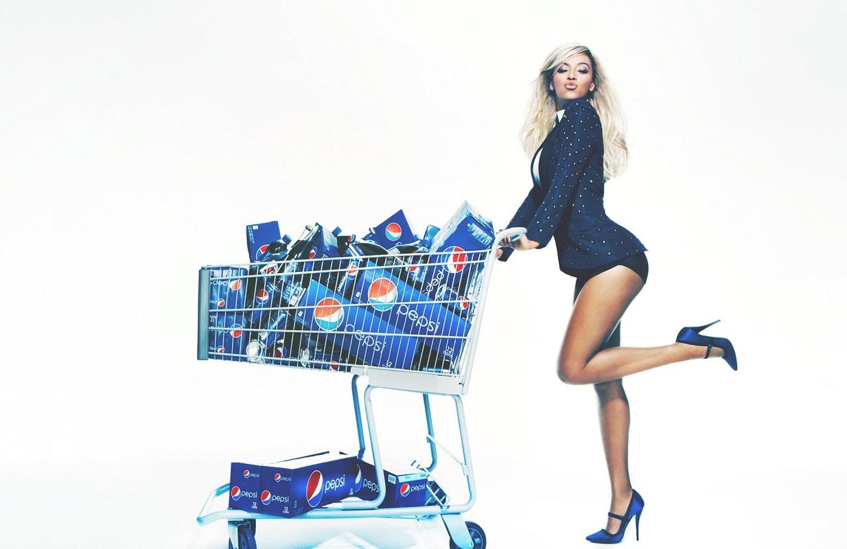 Glamourland Beyoncé Pepsi