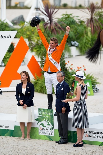 Alltech FEI World Equestrian Games™ 2014 - Normandy, France.