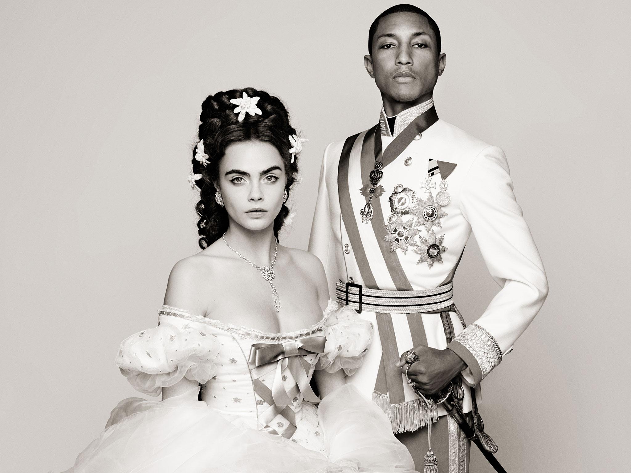 Cara en Pharrell in Chanelsprookje