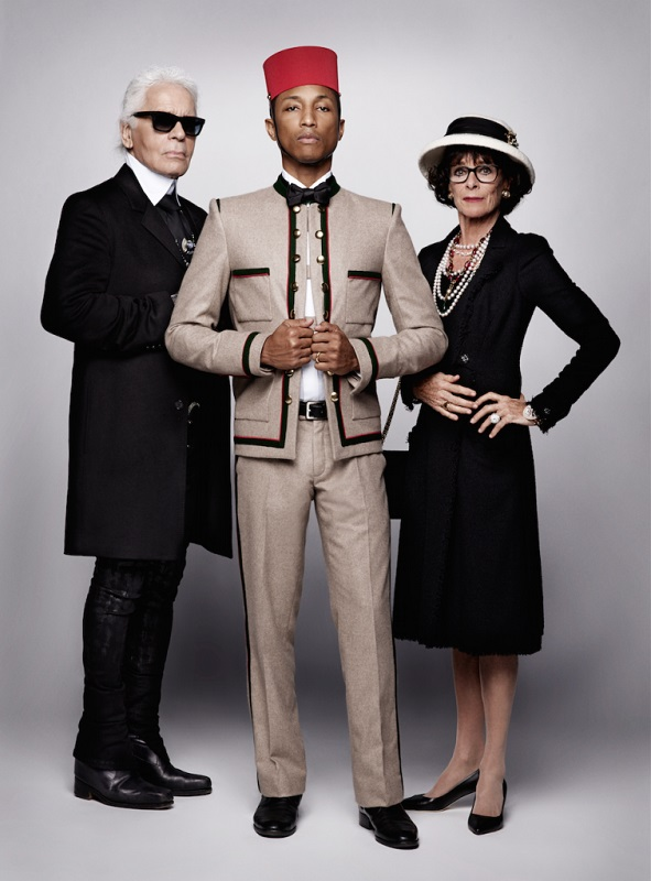 Glamourland Karl Lagerfeld Pharell Chanel
