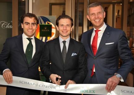 Rolex Official Opening - Dennis Martens-Gabriel de Mestral-Mark van Nieuwkerk-