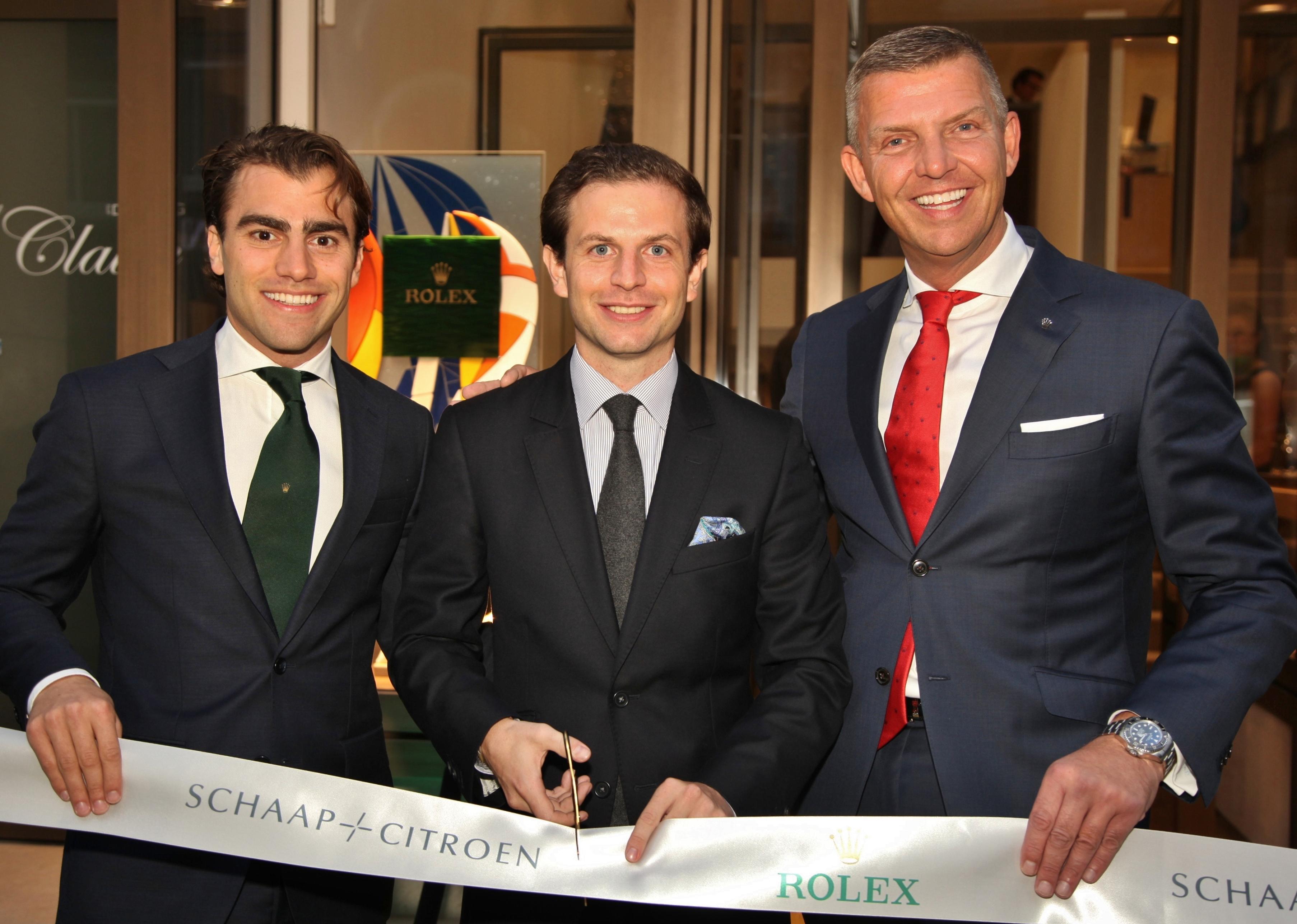 Opening Rolex Boutique P.C. Hooftstraat