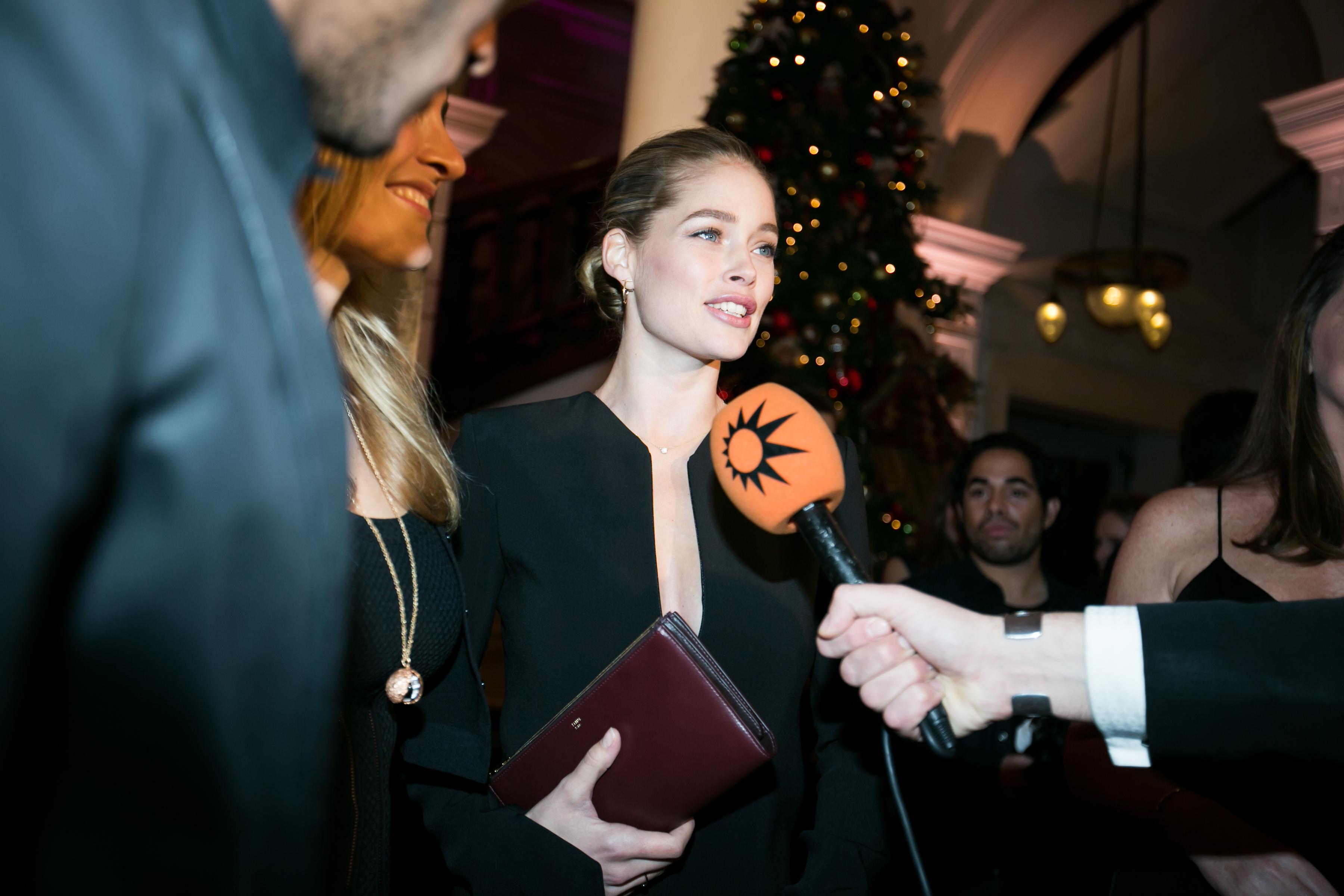 Doutzen Kroes verkozen tot Glamour's Woman of the year 2014