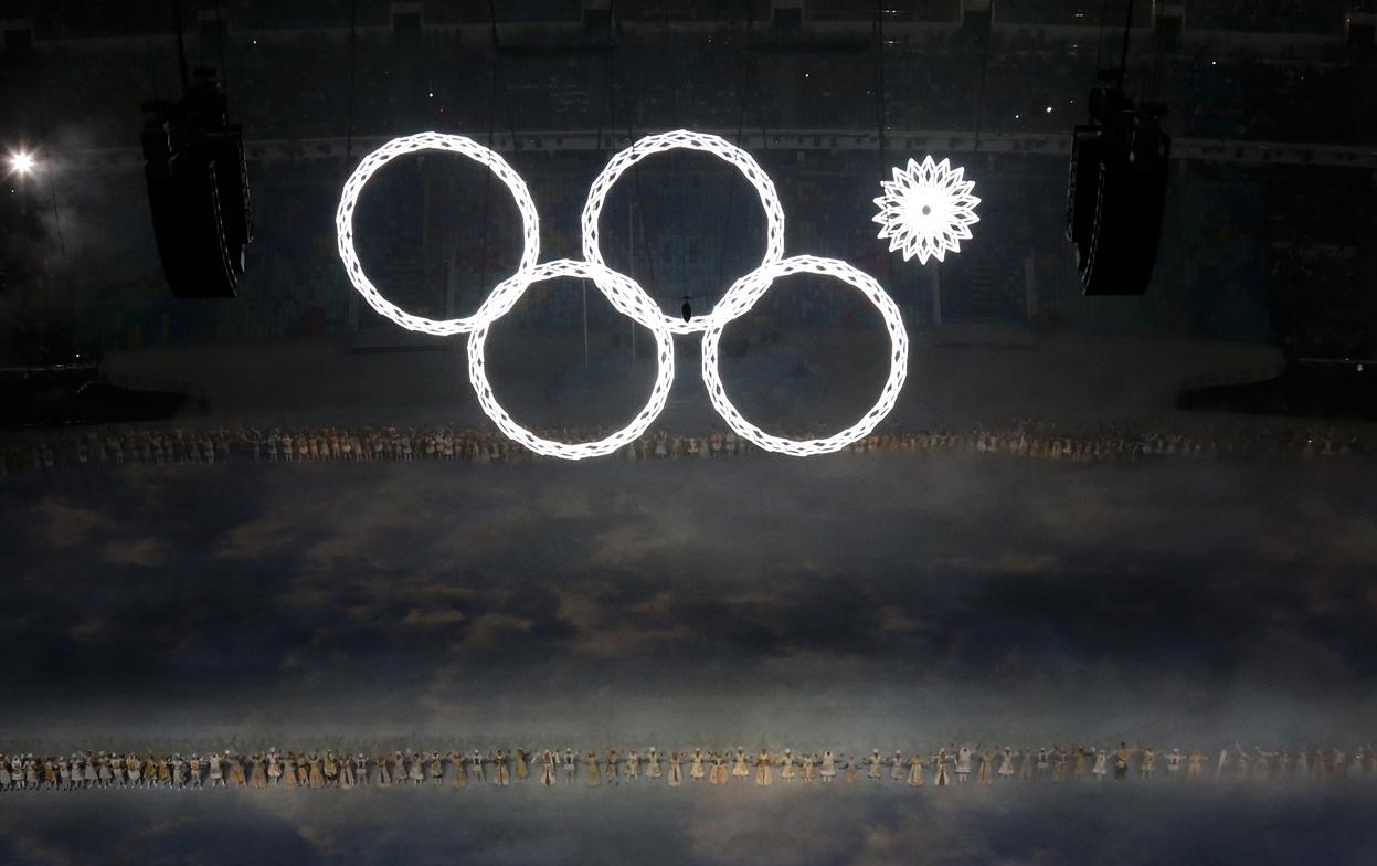 Olympische ringen 2014
