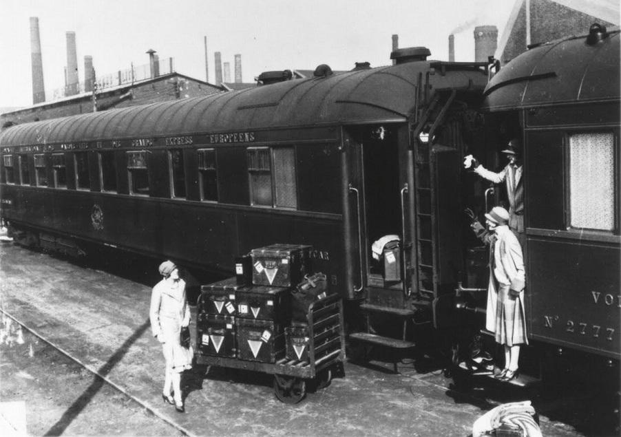 Glamourland Louis Vuitton trein