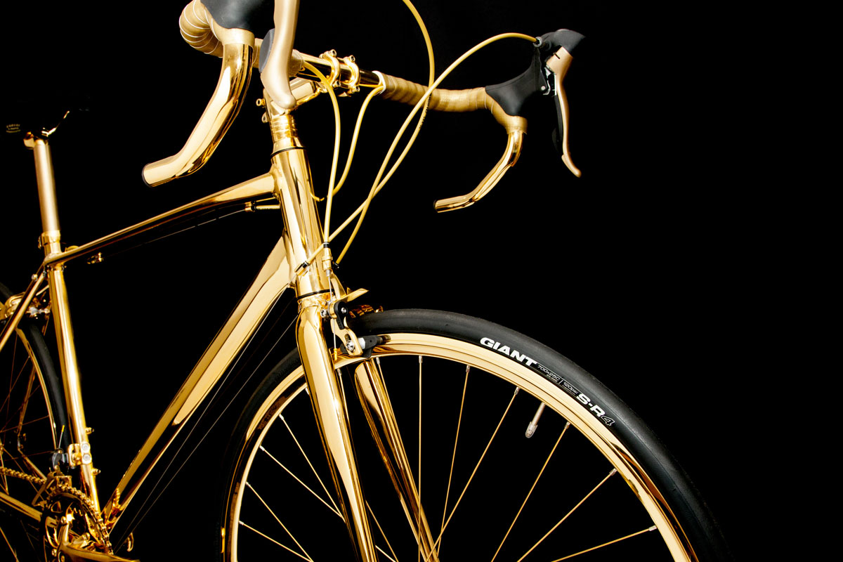 Glamourland gouden fiets 2