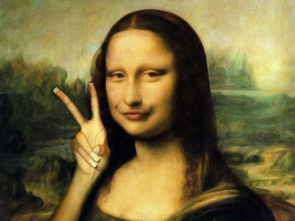 Glamourland Mona Lisa
