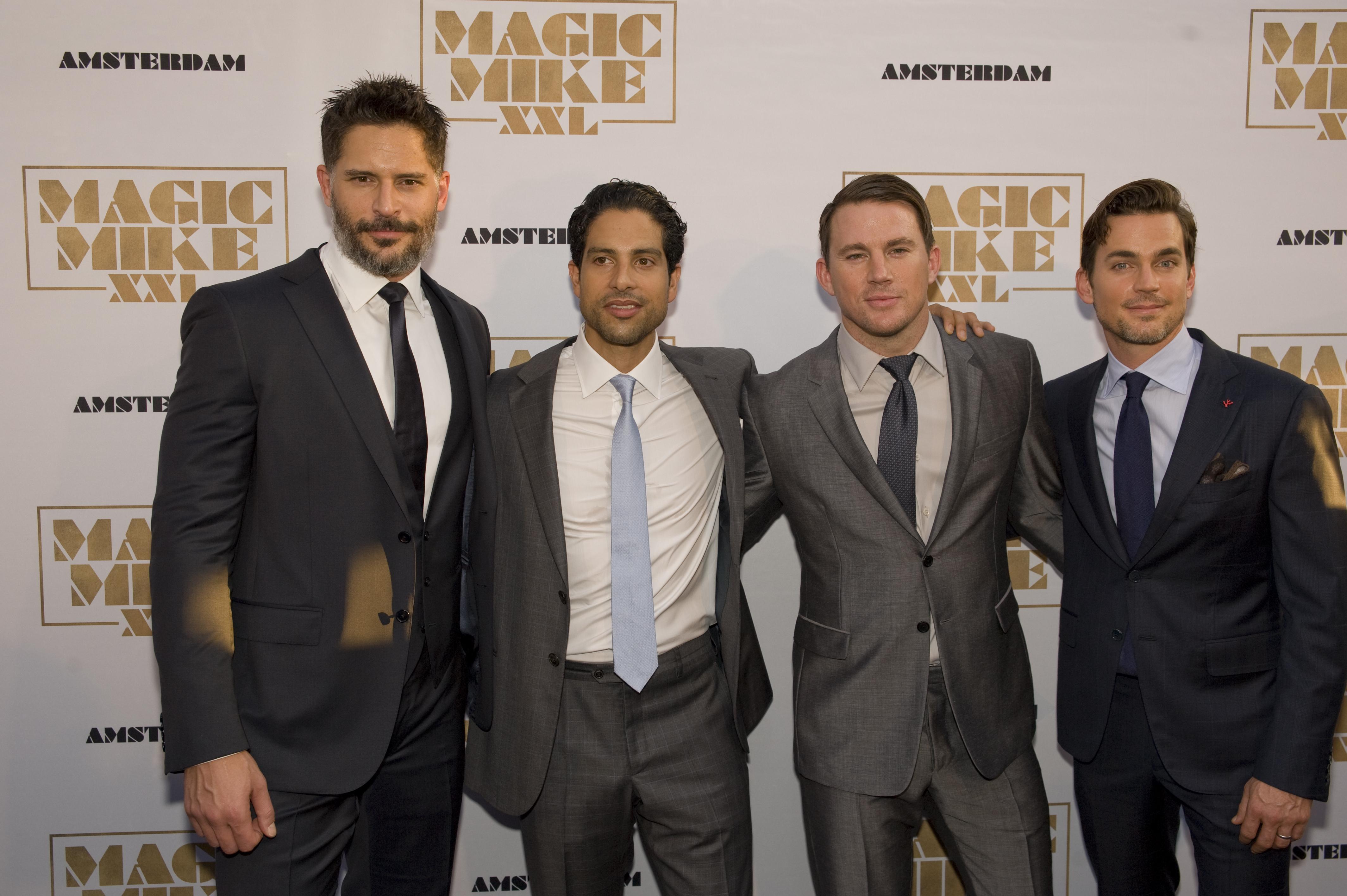 Strippers Joe, Adam, Channing, Matt