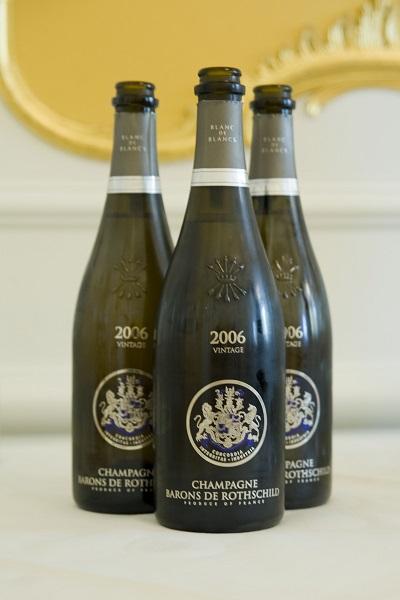Champagne Barons de Rothschild Blanc de Blancs Vintage Brut 2006 Hotel de l'Europe