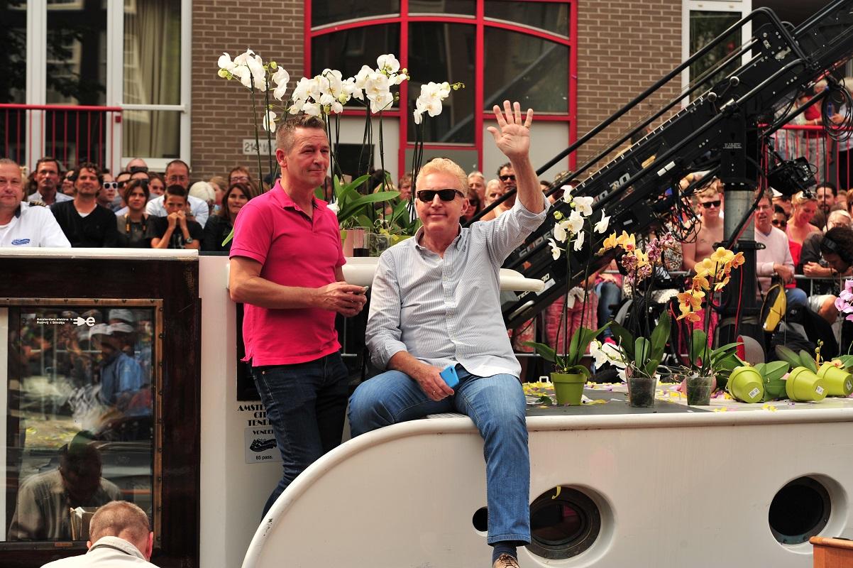 Gay Pride André van Duin
