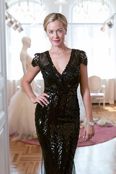 Hollywood actress Kristanna Loken in CRISTALLINI showroom! 2