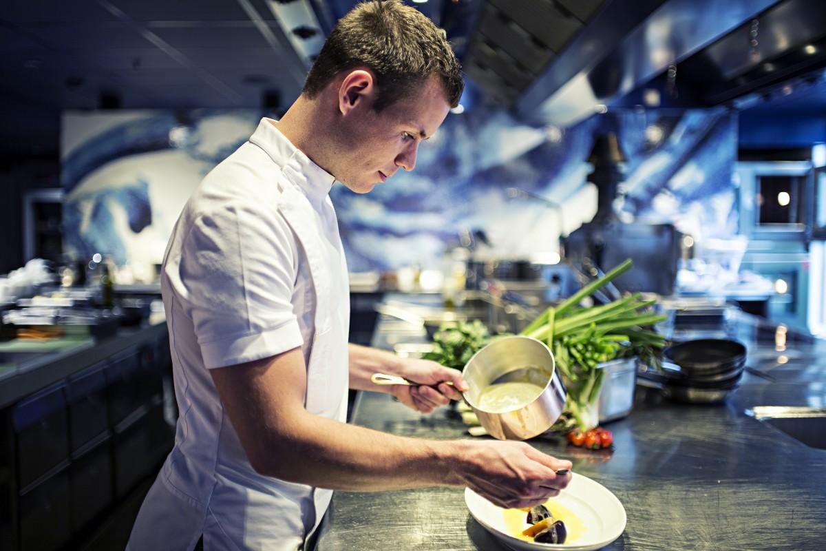 Kasper Stiekema - Head Chef Bluespoon - Kitchen I