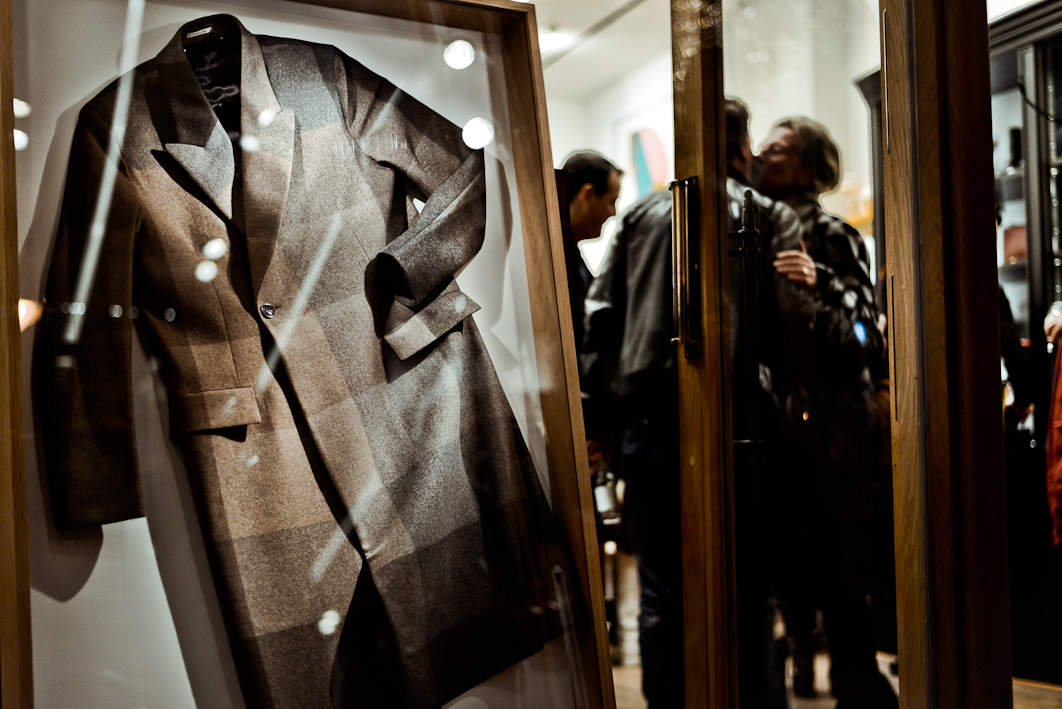 BN'ers snuiven cultuur in Paul Smith boutique