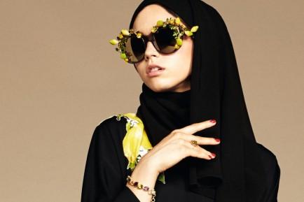 Glamourland Dolce Gabanna hijab abaya