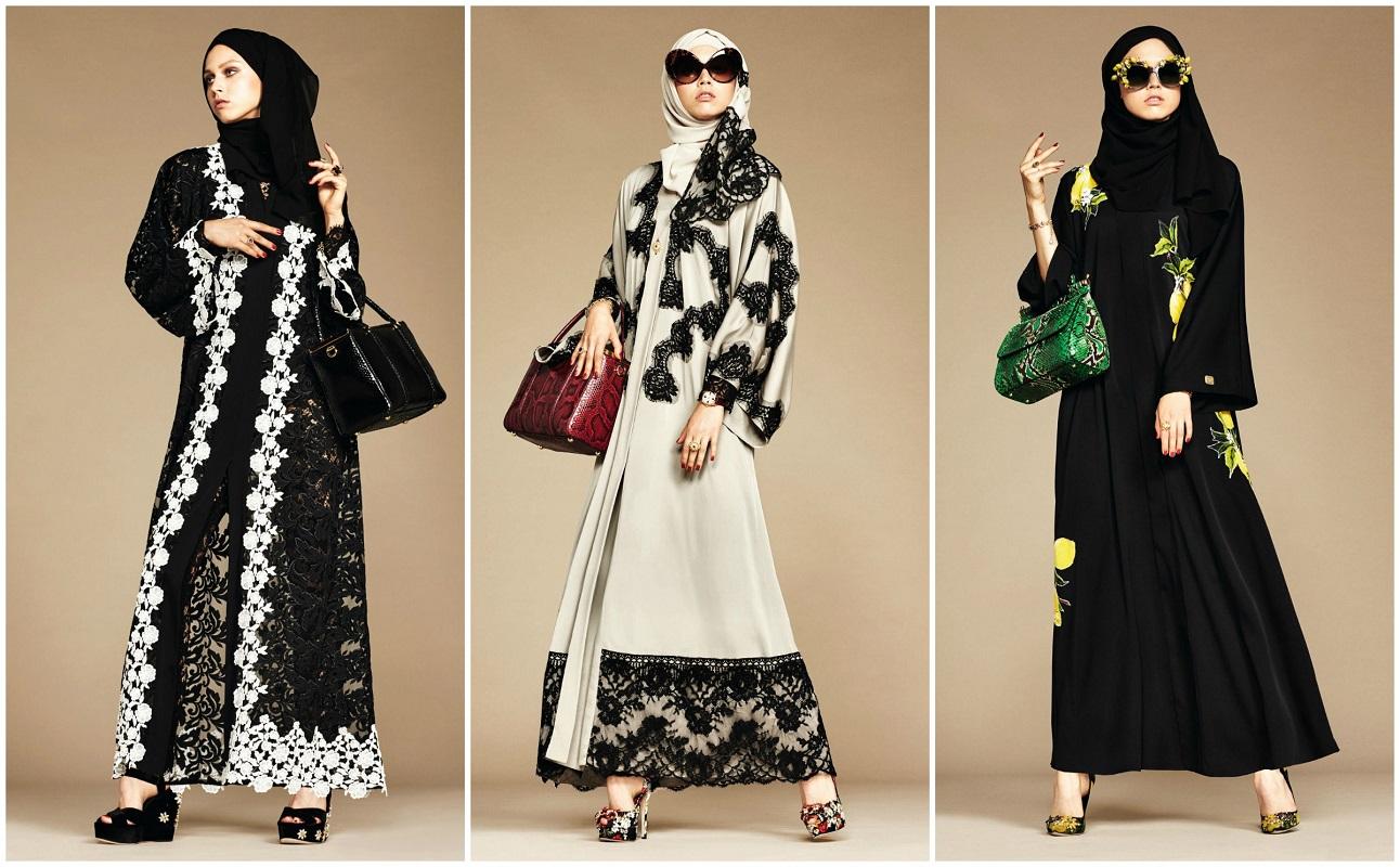 Glamourland Dolce Gabanna hijabs abayas