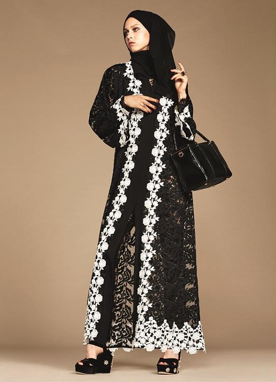 Glamourland Dolce Gabbana hijabs abayas (1)