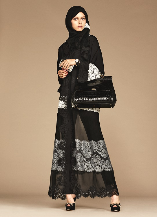 Glamourland Dolce Gabbana hijabs abayas (10)
