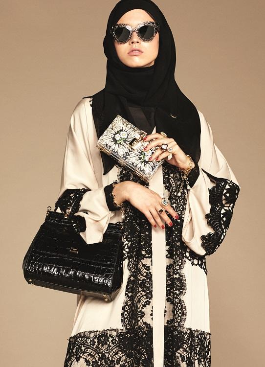 Glamourland Dolce Gabbana hijabs abayas (12)
