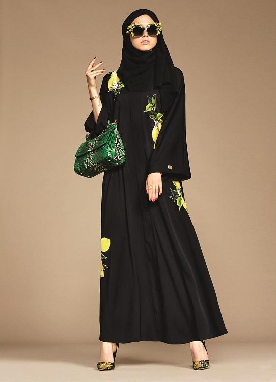 Glamourland Dolce Gabbana hijabs abayas (14)