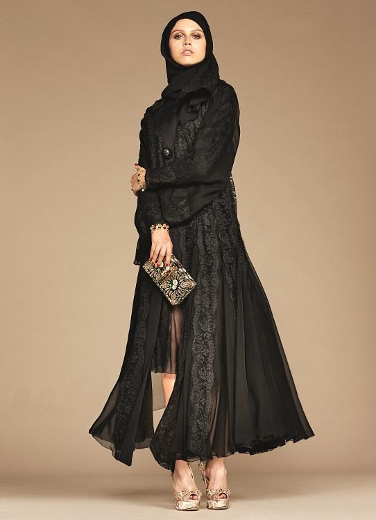 Glamourland Dolce Gabbana hijabs abayas (18)