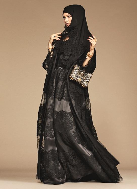Glamourland Dolce Gabbana hijabs abayas (19)