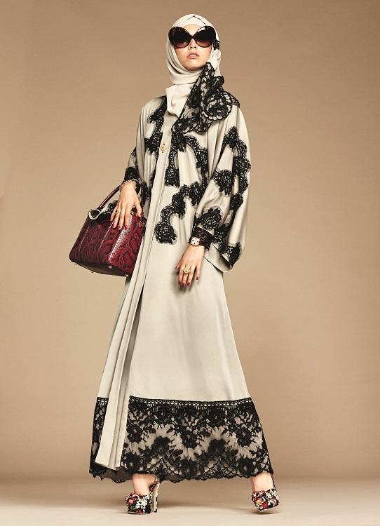 Glamourland Dolce Gabbana hijabs abayas (2)
