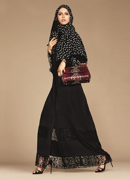 Glamourland Dolce Gabbana hijabs abayas (5)