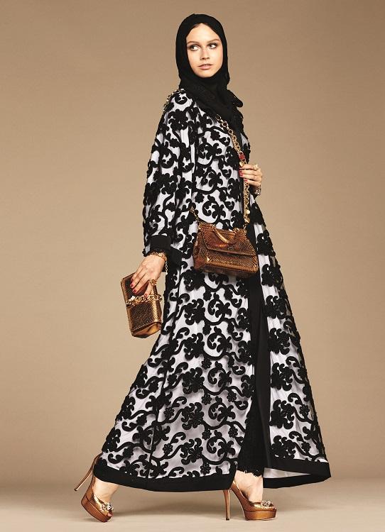 Glamourland Dolce Gabbana hijabs abayas (6)