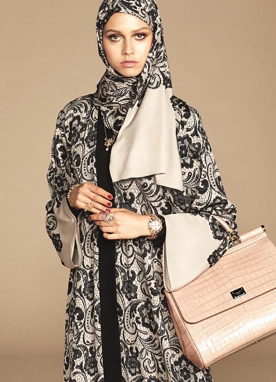 Glamourland Dolce Gabbana hijabs abayas (8)