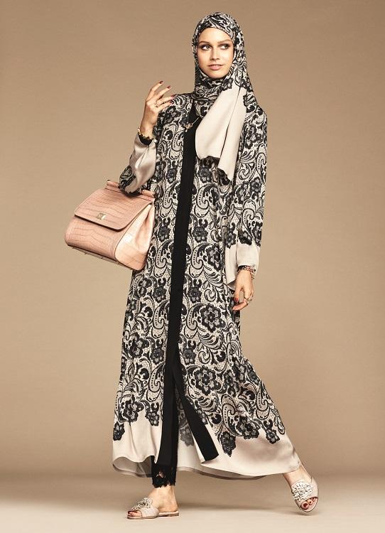 Glamourland Dolce Gabbana hijabs abayas (9)