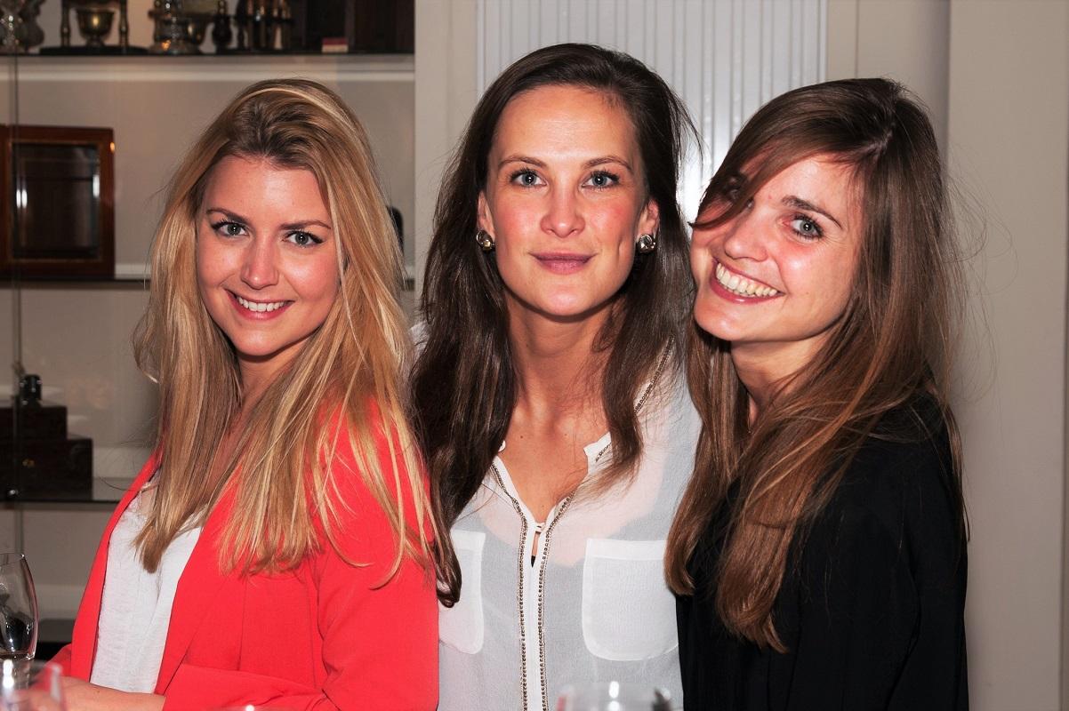Estelle Bogaard, Sonia Festetics de Tolna en Carina Olthof