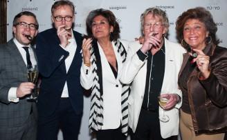 François-Léon Van der Velden, Willem Adriaanse, Christine Kroonenberg, Jan des Bouvrie, Netty vd Veer