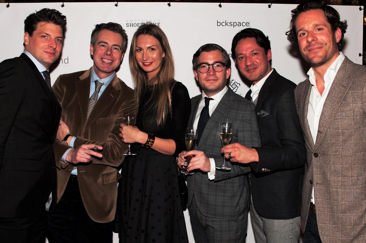 Vincent de Croock (De L'Europe), Menno Born (Dior), Melissa Vandamme (Dior), FL, Joshua (Dior), Tim van de Kimmenade