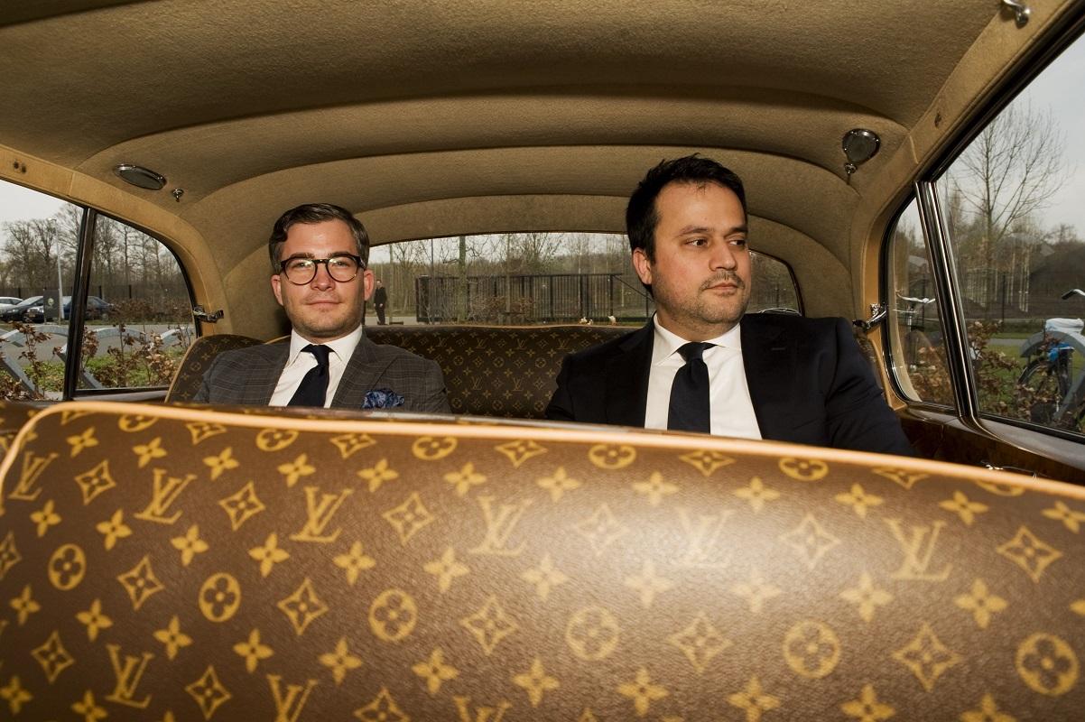 Bentley Rolls Royce weekend - François-Léon Van der Velden en Hossein Akef (eigenaar Persian Caviar) Glamourland