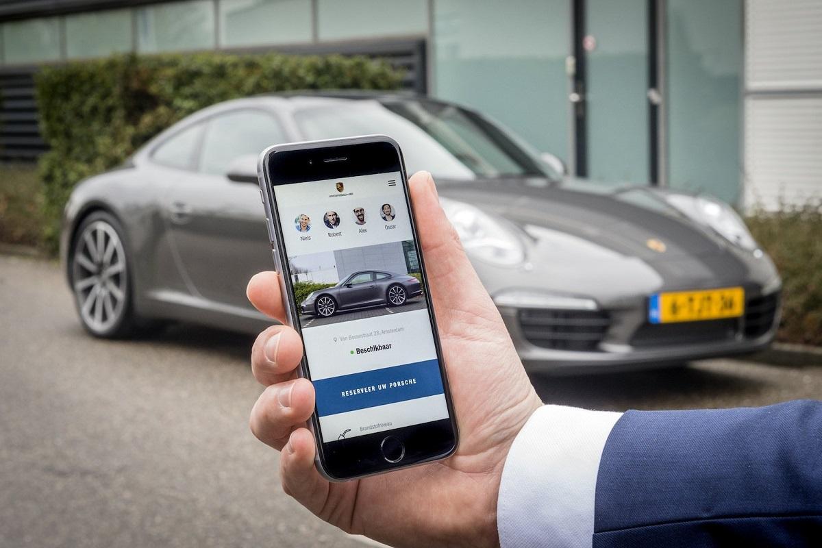 Glamourland Porsche app